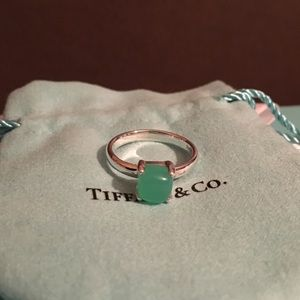 Tiffany & Co Paloma Picasso Chrysoprase Ring Size8